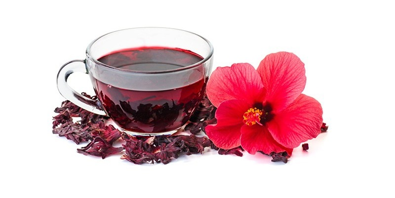 Hibiscus-Flower-Tea